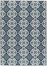 Alfombra Slate 19248 Azul