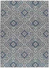 Alfombra Slate 19247 Azul