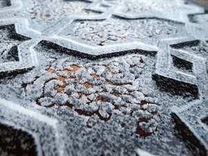 Kris 18 Gris Detalle de Textura