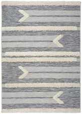 Alfombra Relieve Cheroky 9057 Blanco