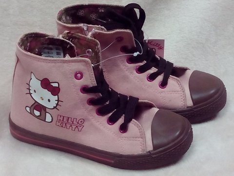 Botas hello kitty for Piletas cuadradas de lona