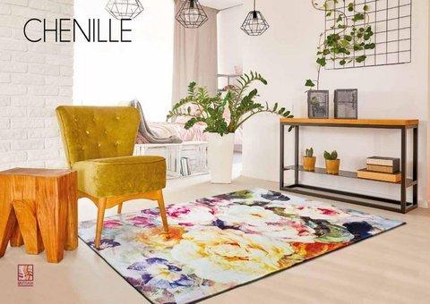 ALFOMBRA CHENILLE 3125 Multicolor