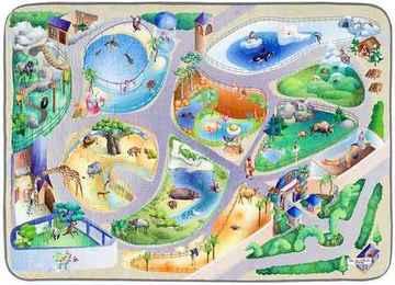 ALFOMBRA INFANTIL GAMES Zoo