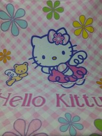 Plaid HELLO KITTY  cuadros