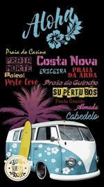 TOALLA DE PLAYA SURFERS FURGONETA 10065