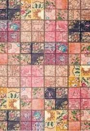 ALFOMBRA CHENILLE 50 Multicolor