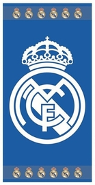 TOALLA DE PLAYA JACQUARD REAL MADRID 14268