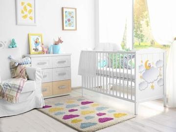 ALFOMBRA INFANTIL NUBES DE COLORES