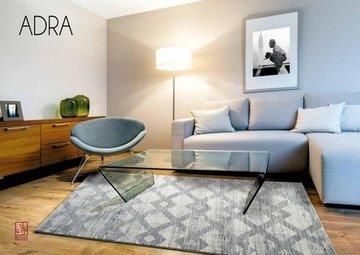 ALFOMBRA GRIS ADRA 12054